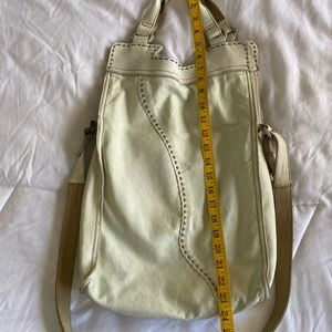 Lucky Brand Abbey Road Lambskin crossbody bag
